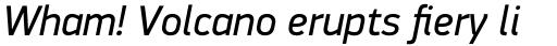 PF DIN Display Pro Italic sample