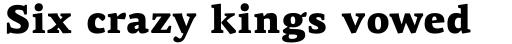 PF Centro Serif Pro Black sample