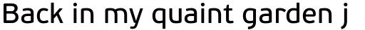 PF Beau Sans Pro Book sample