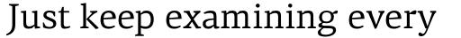 PF Centro Serif Pro sample