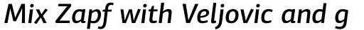 PF Centro Sans Pro Medium Italic sample
