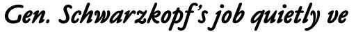 Claude Sans Bold Italic sample