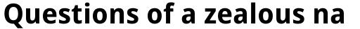 Droid Sans Pro WGL Bold sample