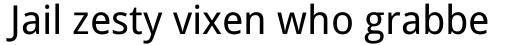 Droid Sans Pro WGL Regular sample