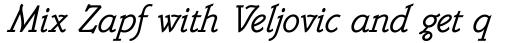 Belwe Mono Italic sample