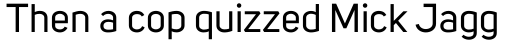 Uni Sans sample