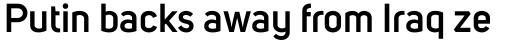 Uni Sans SemiBold sample