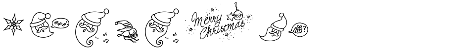 Click to view  LiebeChristmas font, character set and sample text