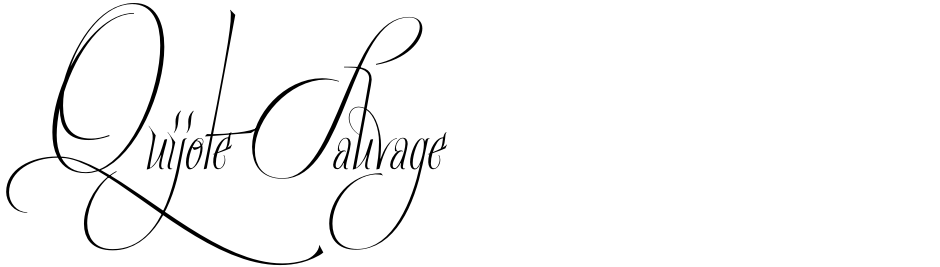 Click to view  Quijote Sauvage font, character set and sample text