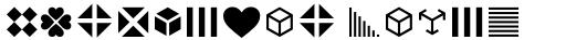 FF Dingbats 2.0 Mixed Forms sample