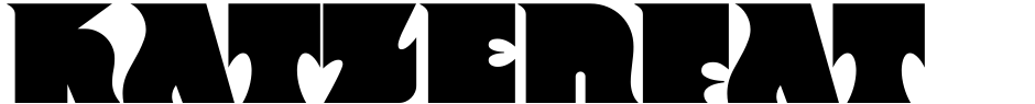 Click to view  Katzenfatzen NF font, character set and sample text