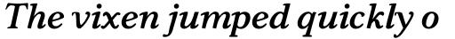 Carniola Bold Italic sample