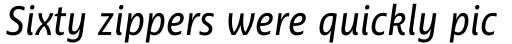 Ayita Pro Italic sample