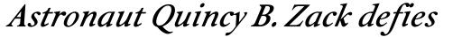 Isolde Bold Italic sample