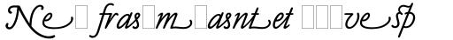 Claude Sans Italic Alts sample
