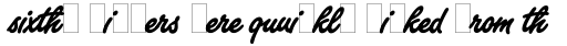 Freestyle Script Bold Alts sample