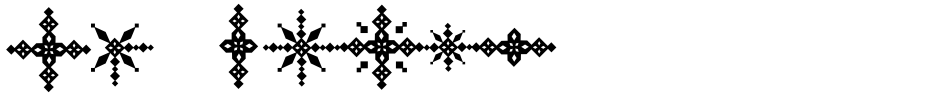 Click to view  Snowflake font, character set and sample text