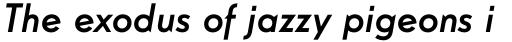 Guildford Pro Medium Italic sample
