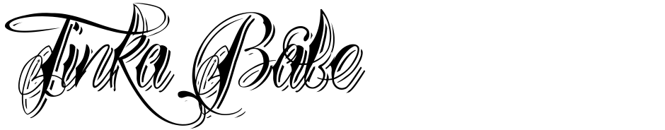 Click to view  Tinka Babe font, character set and sample text