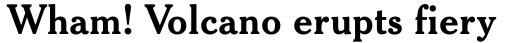 Cheltenham Std Bold Headline sample