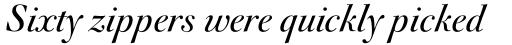 FF Acanthus Std Regular Italic sample