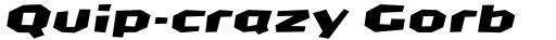 FF CrashBangWallop Std Medium Italic sample