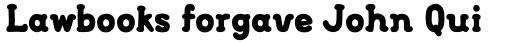 FF FontSoup Std Catalan Extra Bold sample