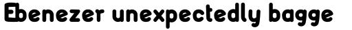 FF FontSoup Std German Extra Bold sample