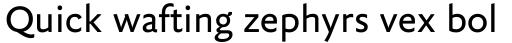 FF Yoga Sans Pro Regular sample