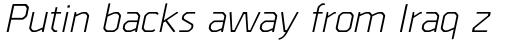 Borda Italic sample