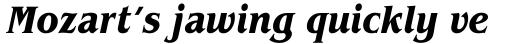 ITC Benguiat Condensed Bold Italic sample