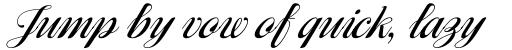 Ragazza Script sample