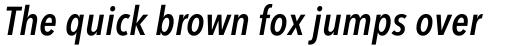 Avenir Next Pro Condensed Demi Italic sample