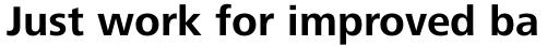 Frutiger Next Pro Bold sample