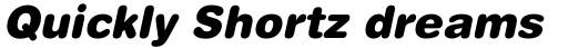 Helvetica Rounded Black Oblique sample
