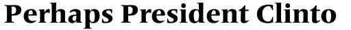Frutiger Serif Pro Heavy sample