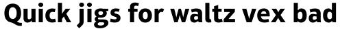 Aptifer Sans Pro Bold sample