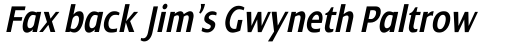 Dialog Pro Condensed Semi Bold Italic sample