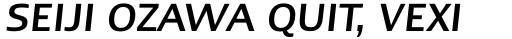 Linotype Ergo Greek Medium Italic sample