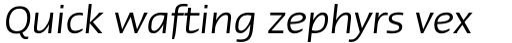 Linotype Ergo Cyrillic Italic sample