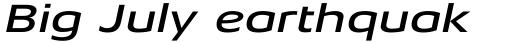 Aeonis Pro Extended Medium Italic sample