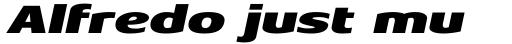 Aeonis Pro Extended Black Italic sample