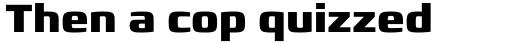 Francker Std Extra Bold sample
