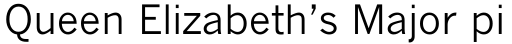 Monotype News Gothic Cyrillic sample