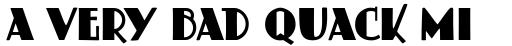 Schildersblad Capitals Regular sample