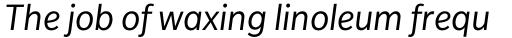 Slate Book Italic sample