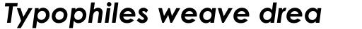 Century Gothic Bold Italic sample