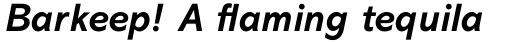 Abadi Std Bold Italic sample