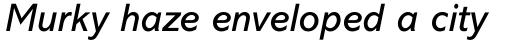 Abadi Pro Italic sample