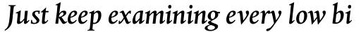 Albertina Std Medium Italic sample